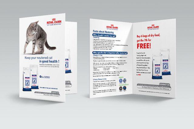 Royal Canin Neutered Brochure