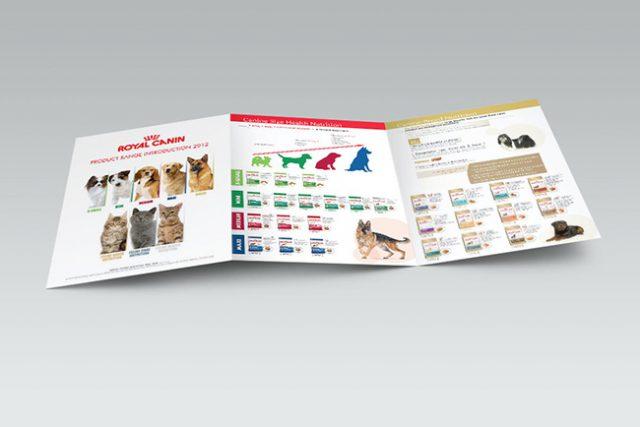Royal Canin Tri-Fold Brochure